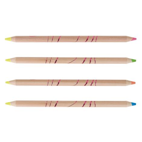 Crayon publicitaire prestige fluo/fluo