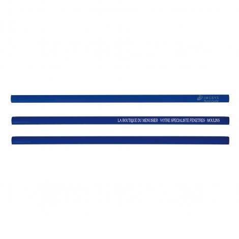 Crayon publicitaire de charpentier vernis Pantone - 30 cm