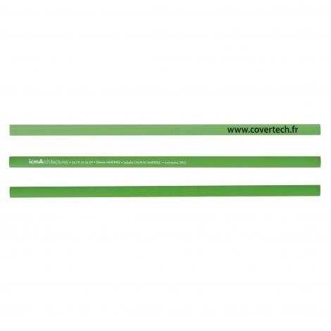 Crayon publicitaire - Le charpentier Eco vernis pantone 30 cm