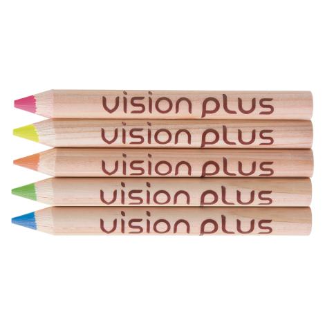 Crayon fluo publicitaire prestige naturel 8.7 cm