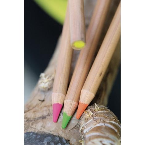 Crayon fluo seul publicitaire, prestige naturel vernis incolore 17.6 cm