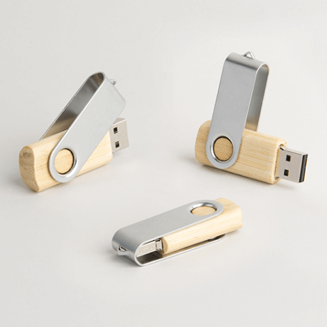 Clé USB publicitaire Twister Wood