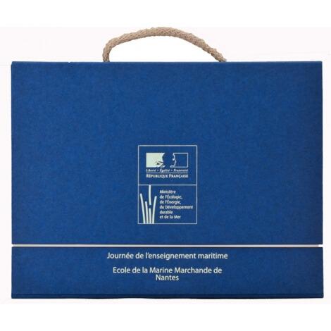 Valisette publicitaire 100% en carton recyclé