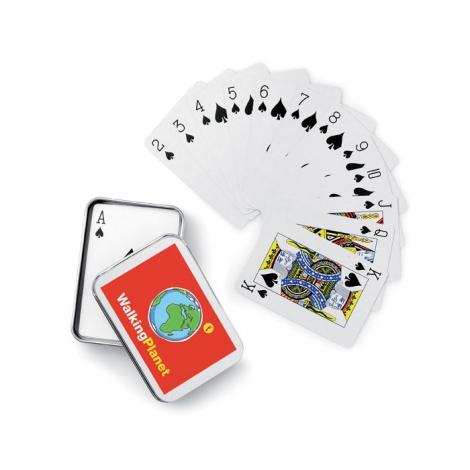 Cartes à jouer publicitaires - amigo