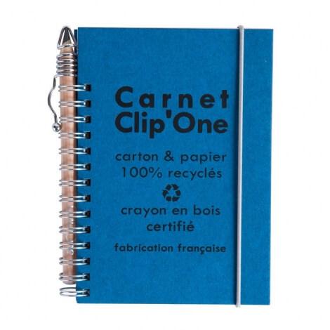 Carnet publicitaire A6 - Clip'One