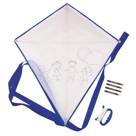 Cerf-volant publicitaire à colorier Blow