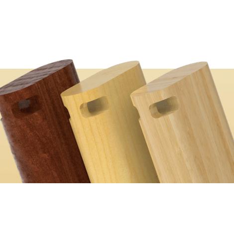Clé USB publicitaire bois - Duo | Clés USB éco | Objet Pub