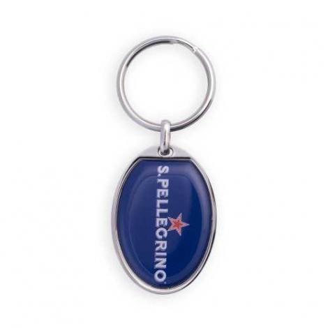 Porte-clés publicitaire - forme ovale