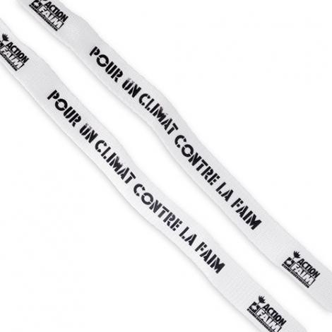 Bracelet publicitaire en coton
