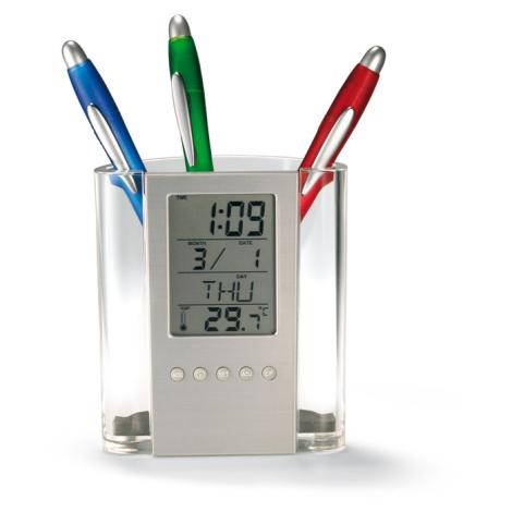 Pot à crayon / horloge personnalisée - Prodigy