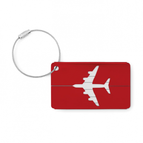 Etiquette à bagage publicitaire - Fly Tag