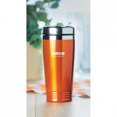 Mug de voyage promotionnel 400 ml - Rodeo Color