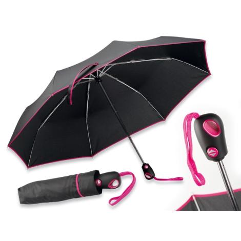 Parapluie publicitaire pliable en polyester - Drizzle