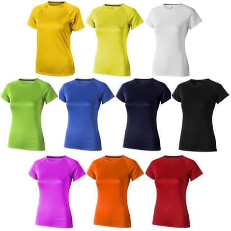 T-shirt de sport publicitaire Femme - Niagara