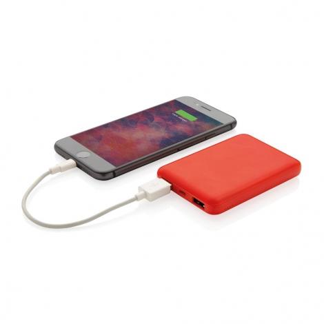 Batterie de secours de poche personnalisée 5000 mAh