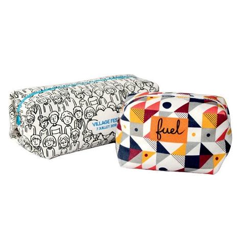 Trousse publicitaire en coton sergé 420 gr - DIGITAL BAG