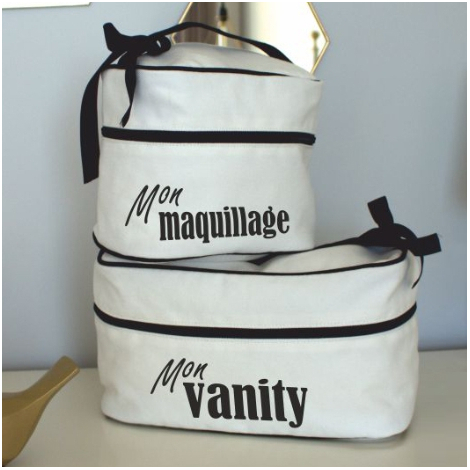 Vanity publicitaire en coton blanchi 420 gr - Black