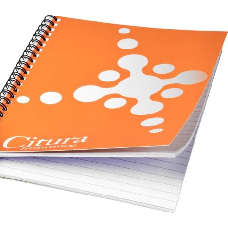 Cahier publicitaire couverture imperméable A4-A5-A6-A7