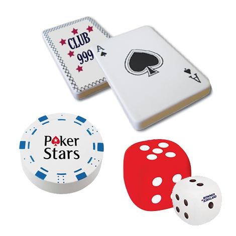 Balle anti-stress publicitaire - Jeux