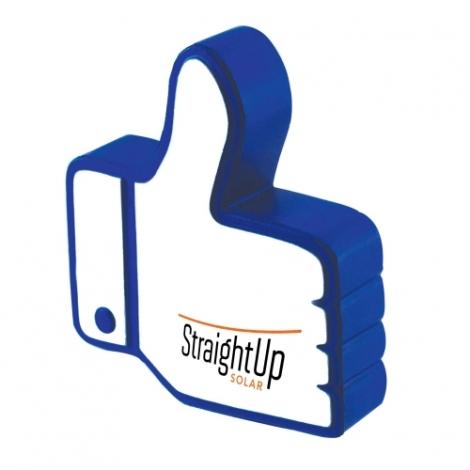 Balle anti-stress publicitaire - Like médias sociaux