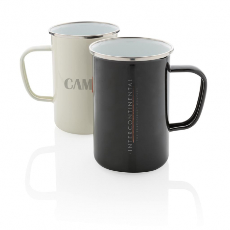 Tasse promotionnelle en émail 680 ml - XL