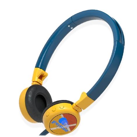 Casque audio publicitaire oreillettes pliables - Twist