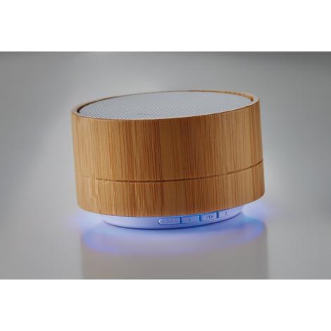 Mini haut-parleur bambou publicitaire 3W - Sound