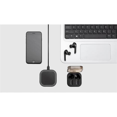 Écouteurs Bluetooth publicitaire boitier chargeur