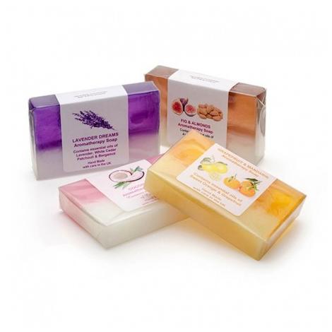 Pain de savon publicitaire 100 gr