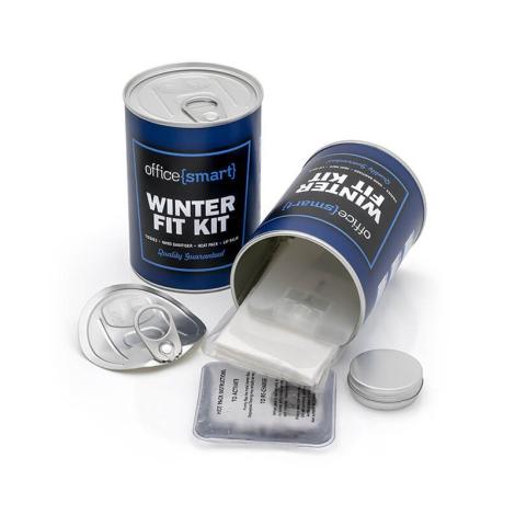 Kit publicitaire pour l'hiver