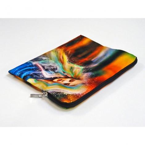 Etui tablette publicitaire en velours 28,5 x 21 cm