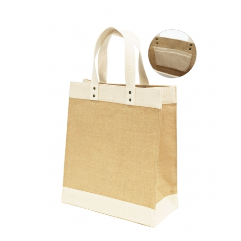 Sac promotionnel en jute - GIRI