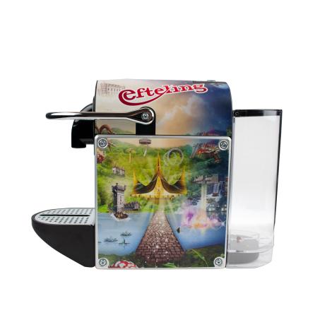Machine à café publicitaire - Nespresso Pixie Metal Alu