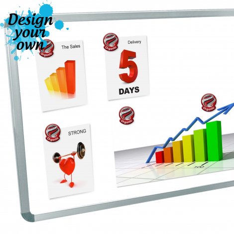 Magnet publicitaire - Whiteboard Magnet Custom