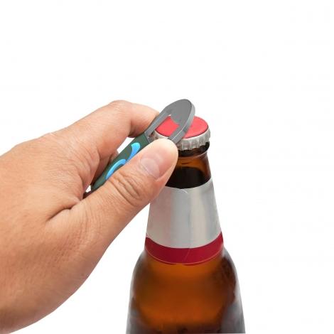 Port-clés publicitaire - Key Ring Bottle Opener