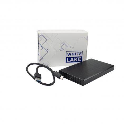 Disque dur publicitaire - White Lake Pro External HDD