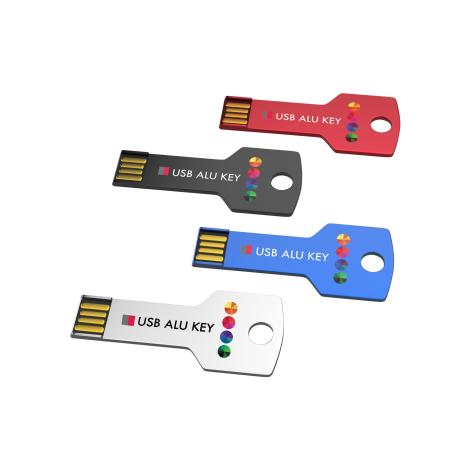 Clé USB publicitaire - USB Stick ALU KEY