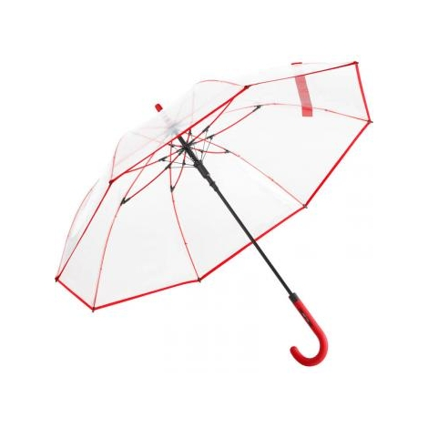 Parapluie transparent publicitaire automatique