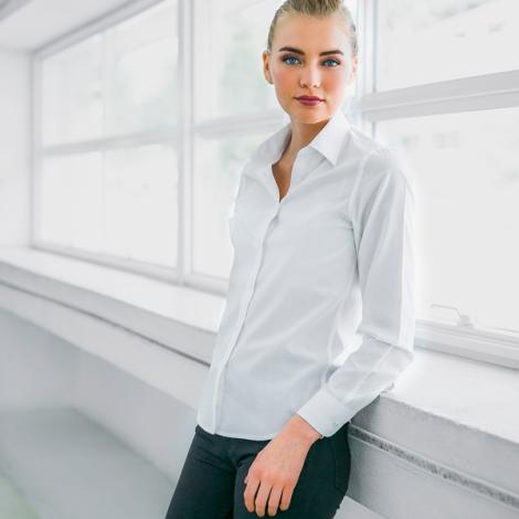 Chemise publicitaire blanche femme - BATALHA