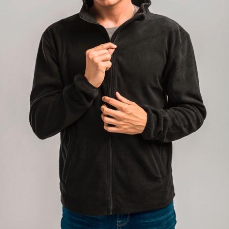 Veste polaire publicitaire homme, avec fermeture zippée - HELSINKI