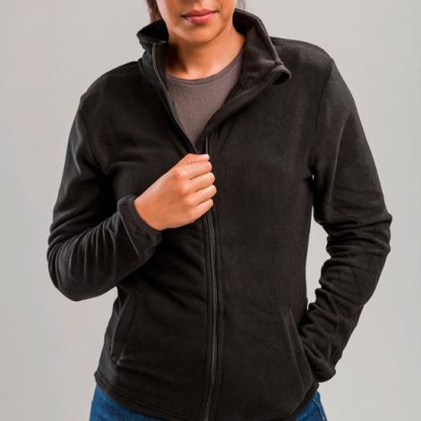 Veste polaire publicitaire femme, avec fermeture zippée - HELSINKI
