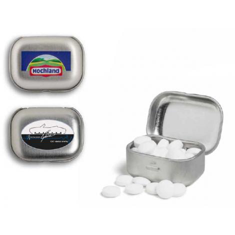 Micro boîte publicitaire à charnière