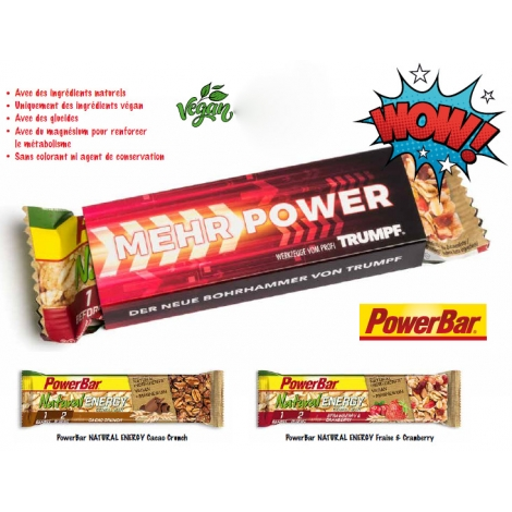 Barre publicitaire - Powerbar Energy