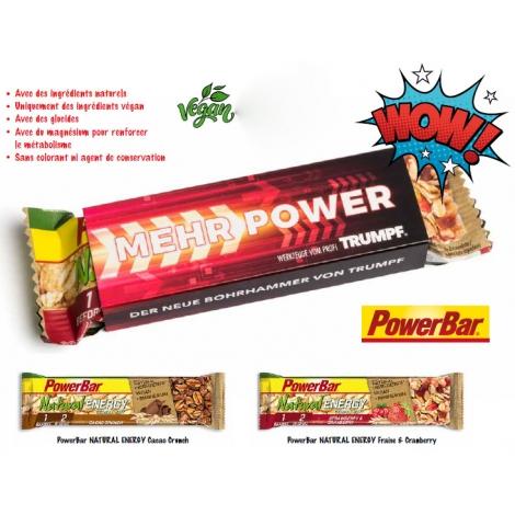 Barre publicitaire - Powerbar Energy