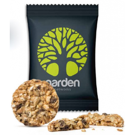 Sachet publicitaire de Biscuit énergétique pépites de chocolat