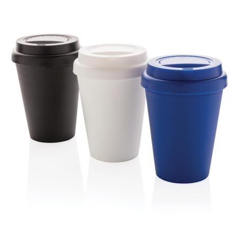 Mug publicitaire en PP recyclable à double paroi 300 ml