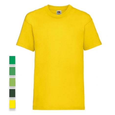 T-shirt publicitaire en coton pour enfant 165 gr Valueweight