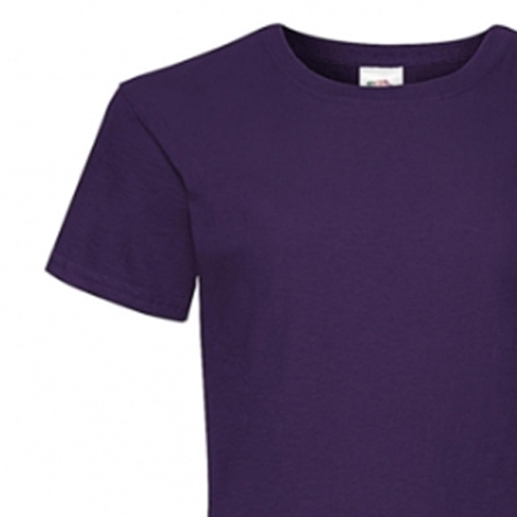 T-shirt publicitaire pour fille 165 gr Valueweight