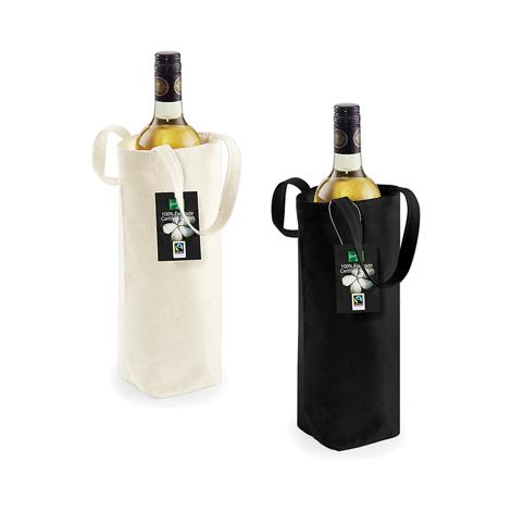 Sac bouteille personnalisable en coton 407 gr