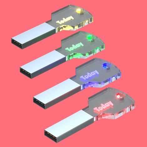 Clé USB promotionnelle Plexi